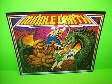 Atari MIDDLE EARTH Lowen-Automaten German Original 1978 Pinball Machine Flyer