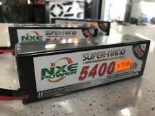 NXE Super-Nano 5400 Mah 11.1v  Hard Case 3 Cell Lipo Battery W/Deans OZRC