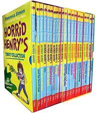 Set Horrid Henry 24 Books Collection Simon Book Early Reader Stories Children