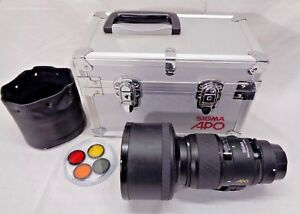 Sigma APO 300mm 1:2.8 Canon Works with all Canon DSLR With Case