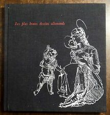 Les Plus Beaux Dessins Allemands 1964 Eisler HC ILLUSTRATED ART BOOK