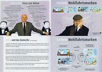 BRD 2011: Loriot! Erinnerungsblatt Nr 2836-2839! Berlin- + Bonn-Stempel! 1A 1705