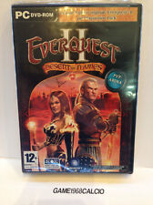 EVERQUEST 2 II + DESERT OF FLAMES (PC) NUOVO SIGILLATO