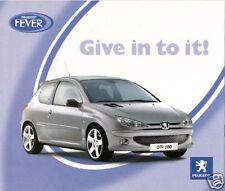 Peugeot Special Offers 2004 UK Market Brochure 206 Partner Combi 307 407 807