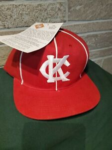 NWT 1998 Vintage Kansas City KC Monarchs Negro League Snapback Baseball Hat SGA