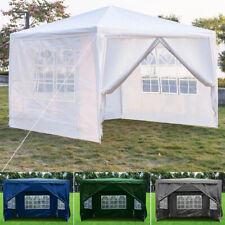 More details for 3x3m party tent marquee gazebo garden patio wedding canopy waterproof heavy duty
