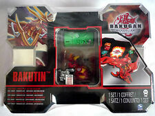 BAKUGHAN GUNDALIN INVADERS/Rojo BAKUTIN BATTLEGEAR Set/Nuevo Y Sellado