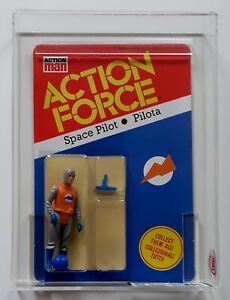 Action Force/GI Joe Vintage Space Pilot 30 Back Italian Palitoy MOC AFA UKG 85%