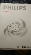 OPERATING INSTRUCTIONS MANUAL PHILIPS VISION VACUUM CLEANER