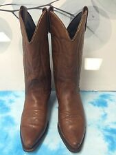 Vittorio Ricci Studio Womens Brown Leather Western Boots Size 8 M
