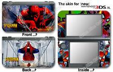Spider Man Spiderman Skin Vinyl Sticker Decal Cover #2 for NEW Nintendo 3DS XL