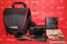 CANON EOS M100 BODY 24.2MP 1080P, TOUCH SCREEN + MUCH MORE *NEAR MINT CONDITION*