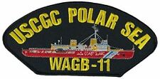 Uscgc Coast Guard Wagb-11 Polar Sea Patch Heavy Ice Breaker Always Summer Uscg