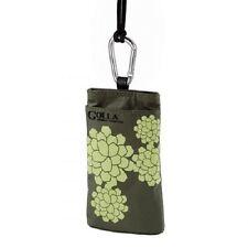 Golla Handytasche G524, Letty Green, grün mit hellgrünem Blütenmuster 91573