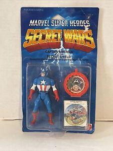 Sealed 1984 Secret Wars Captain America Marvel Super Heroes Action Figure Mattel