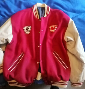 Vintage early 90s Sydney Swans Coach / Player Issue Leather Jacket