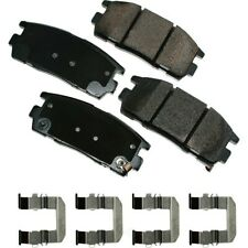 Disc Brake Pad Set-ProACT Ultra Premium Ceramic Pads Rear Akebono ACT1275