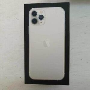 Boîte Vide Pour Apple IPHONE 11 Pro Argent 64GB avec Gratuit Chargement Câble