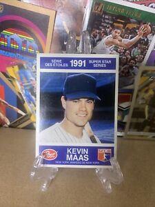 1991 Post Canadian Super Star Series Kevin Maas #20 ⚾️🔥 New York Yankees