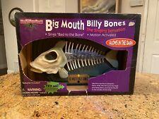 1999 Gemmy Big Mouth Billy Bones The Singing Sensation • Singing Fish • New