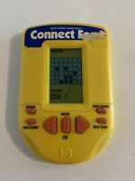Connect Four Electronic Handheld Game Yellow (Milton Bradley, 1995)
