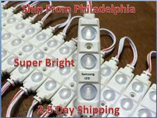 50FT Sansung 5630 Super Bright LED Module White Lens Cool White Waterproof 12V