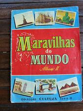 Album complet 1965 non Panini - Chromos Maravilhas do Mundo Album II.