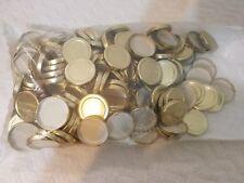 Glass Jar Caps 58/2030 Gold Metal Plastisol Lined Lug Cap Lot of 144 SKS 6046-07