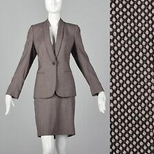Large Alexander McQueen Pre 2002 Skirt Suit Vintage Blush Women's Vtg Wiggle