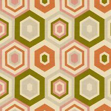Contemporary Geometric Linen Print Multipurpose Fabric 3Yards Shell