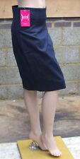 Yummie Mummie S Fabulous Black Shaper Secret Silhouette Control Navy Blue Skirt