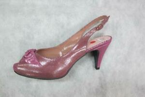 new women's shoes ana roman 15014 in a magenta pink
