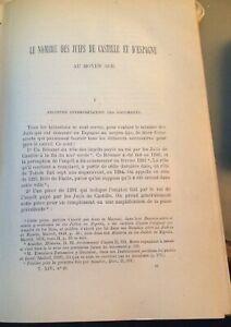 JUDAÏCA.LE NOMBRE DES JUIFS DE CASTILLE ET D'ESPAGNE AU MOYEN-AGE.