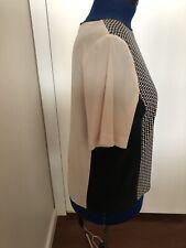 tibi Patterned Silk Top.  US 10/Aus 14