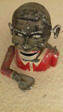 Starkies Vintage Black Face Jolly Man Coin Bank