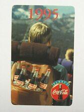 CALENDARIETTO TASCABILE / Pocket Calendar 1995 COCA COLA (cm 10x6)