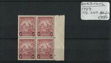 Barbados 1939 SG.249 Block U/M