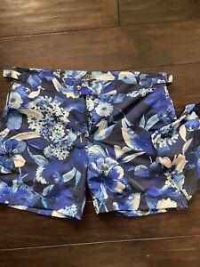 Ralph Lauren Polo Floral Nautical Print Swim Trunk Size 32