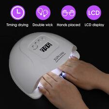 180W Nail Dryer Led Lamp Uv Light Polish Gel Curing Machine Electric Manicure