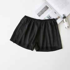 Women Under Shorts Imitated Silk Lace Satin Underwear Render Hot Safety Pants