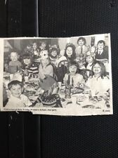 L3-9 Ephemera 1974 Picture Holy Trinity Primary School Margate Christmas Party