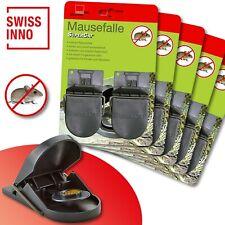10 Stück Swissinno SuperCat Mausefalle Schlagfalle