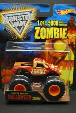 HOT WHEELS MONSTER JAM HALLOWEEN ZOMBIE LIMITED EDITON