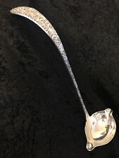 "Stieff STERLING Silver Rose Punch Ladle Double Lipped Bowl 14.5"" No Mono 1 Piece"