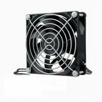 110V 120V 220V 240V Ball 92mm x 92mm x 25mm Cooling Fan With Grill Screws