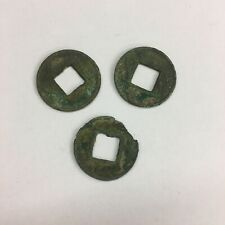 More details for 3x china ancient han dynasty 5 grain coin c75bc