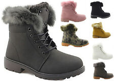 Damen Winterschuhe Boots Damenschuhe Stiefelette Outdoor Schuhe Innen gefüttert