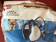 2X 3M 4277+ Reusable Maintenance Free Half Face Respirator FFABE1P3 R D Filters