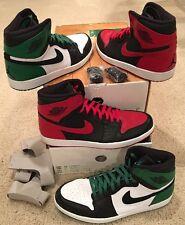 Nike Air Jordan Retro 1 High DMP Defining Moments Pack Size 15 Bulls Celtics