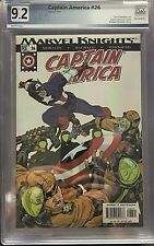 Captain America (2002 series) #26 Marvel comics PGX 9.2 - HYDRA COVER